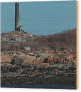 Thatcher Island Wood Print