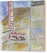 The Apollo Theatre Wood Print
