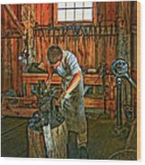 The Apprentice 2 Wood Print