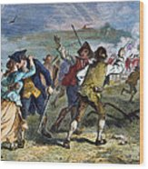 The Battle Of Concord, 1775 Wood Print