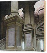 The Bowels Of City Hall Wood Print