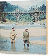 The Bridge On The River Kwai Wood Print by Silver Screen