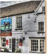The Bull Pub Theydon Bois Essex Wood Print