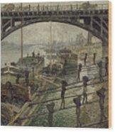 The Coalmen Wood Print