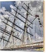The Cutty Sark Greenwich Wood Print