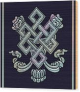 The Endless Knot Wood Print