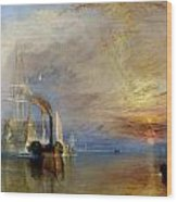 The Fighting Temeraire Wood Print