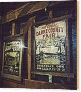 The Great Darke County Fair Wood Print