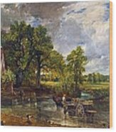The Hay Wain Wood Print by John Constable