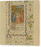 The Magi With Mary And Jesus -  Page Wood Print