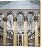 The National Building Museum In Washington Dc Usa Wood Print