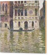 The Palazzo Dario Wood Print