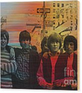 The Rolling Stones Wood Print