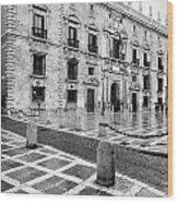 The Royal Chancery Of Granada Wood Print