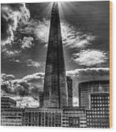 The Shard And South Bank Wood Print