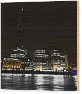 The South Bank London Wood Print