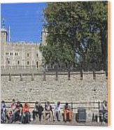 The Tower Of London Wood Print
