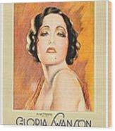 The Trespasser, Gloria Swanson, 1929 Wood Print