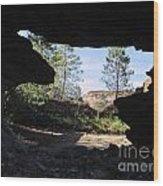 Through - Rio Tinto Wood Print