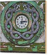Time Wood Print by Skip Hunt
