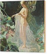 Titania Wood Print