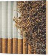 Tobacco Wood Print