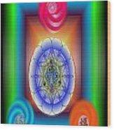 Divine Wealth Wood Print