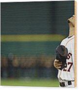 Toronto Blue Jays V Houston Astros Wood Print