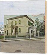 Touro Synagogue In Newport Rhode Island Wood Print