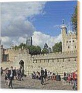 Tower Of London Wood Print