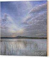 Traverse Lake Wood Print
