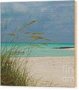Treasure Cay Wood Print