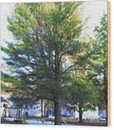 Tree 1 Wood Print