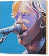 Trey Anastasio Wood Print