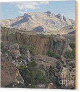 Tsaranoro Mountains Madagascar 1 Wood Print