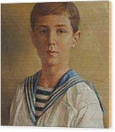 Tsarevich Alexei Of Russia Wood Print