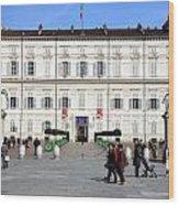 Turin Palazzo Reale Wood Print