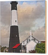 Tybee Lighthouse Wood Print