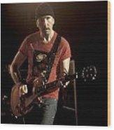 U2 - The Edge Wood Print