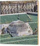 University Of Al-karaouine In Fes In Morocco Wood Print