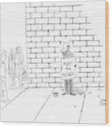 New Yorker November 7th, 2005 Wood Print