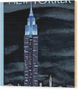 New Yorker November 19th, 2012 Wood Print