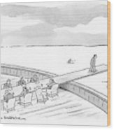 New Yorker January 21st, 2008 Wood Print