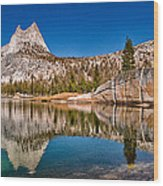 Upper Cathedral Lake Wood Print