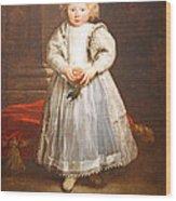 Van Dyck's Maddalena Cattaneo Wood Print