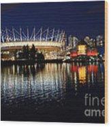 Vancouver British Columbia 3 Wood Print