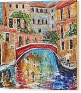 Venice Magic Wood Print