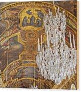Versailles Ceiling Wood Print