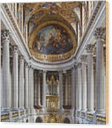 Versailles Chapel Wood Print