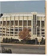 Veterans Stadium Wood Print